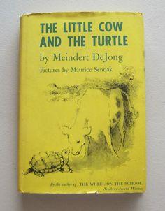 The Little Cow And The Turtle ~ Meindert DeJong Maurice Sendak ~ BCE HCDJ