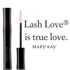Lash Love Mascara www.marykay.com/bobbibanks www.facebook.com/marykaybobbi