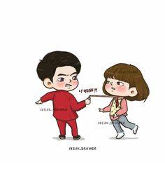#StrongWomanDoBongSoon #ParkBoYoung #chibi #koreandrama #dorama @freak_drawer