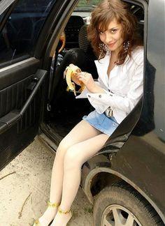 buongiorno colazione con una banana......