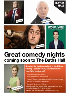 Our latest comedy poster - coming up!