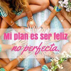 """Un buen plan para hoy: """"Ser FELIZ""""  Feliz inicio de semana! #Felizdia #motivacion #Inspiracion #MModaVenezuela"""