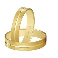 Alianzas de boda plana Oro 1ª Ley 18Kts. 4mm Argyor ref. 5140494 18K
