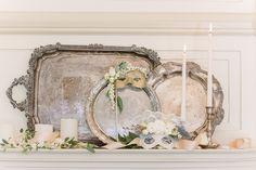 Vintage wedding decor | photos by Annabella Charles Photography | 100 Layer Cake