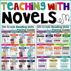Teaching with ACTUAL Novels All Year Long | Mrs. Cahill's Class (The Hungry Teacher) | Bloglovin'