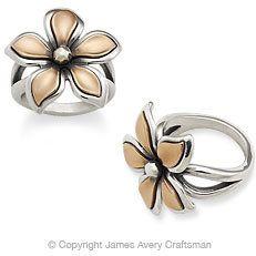 #jamesavery.com           #ring                     #Silver #Copper #Petal #Ring #from #James #Avery    Silver & Copper Petal Ring from James Avery                                   http://www.seapai.com/product.aspx?PID=1090583