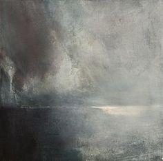 artwork by Norwegian artist Ørnulf Opdahl. Abstract Landscape Painting, Seascape Paintings, Landscape Art, Landscape Paintings, Abstract Art, Gravure Illustration, Illustration Art, Art Abstrait, Beautiful Artwork