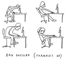 postures that Alexander might not approve of.