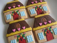 hansel & gretel cottage by sugarlily cookie, via Flickr