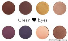 When choosing eyeshadows colours to make your eyes \pop\ you choose the contrasting colour which is the colour opposite to your own eye colour on the colour wheel.    The opposite of blue on the colour wheel is Orange, with Red Orange and Yellow Orange the secondary colour families and tertiary family being Violet & Yellow. These are the contrasti...