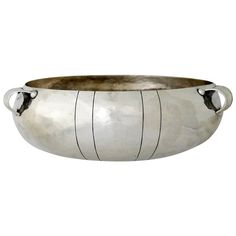 William Spratling Hand-Wrought Sterling Silver Bowl | From a unique collection of antique and modern bowls at https://www.1stdibs.com/furniture/dining-entertaining/bowls/