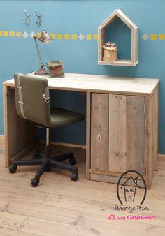 Bureau steigerhout Rover? De leukste Bureau's & Tafels voor de kinderkamer bij Saartje Prum.