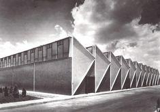 Taller del Instituto Mexicano del Petróleo, Eje Central Lázaro Cárdenas 152, San Bartolo Atepehuacán, Gustavo A. Madero, México DF 1966