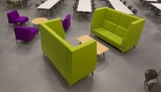 From Interiors and Sources Magazine    The MOTIV High Back Sofa from Bretford was created to provide a private, comfortable space with optional power accessibility to charge laptops, tablets and other mobile devices.    The newest addition to Bretford's MOTIV line of soft seating, it is ideal for use in casual learning environments, such as higher education libraries, lounges and cafés, but is also perfect for common areas of schools, corporate offices and public buildings.
