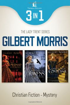 The Lady Trent series by Gilbert Morris.  Christian Fiction, Mystery