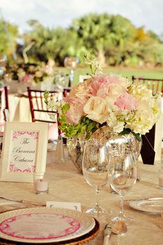Love the flower arrangements