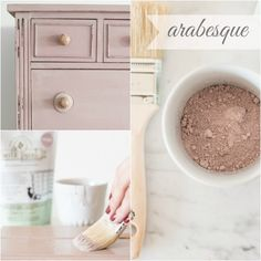 say hello to ARABESQUE…Think ballet tights, dusty pink tutus and pink tea roses and you'll have a good idea what to expect from Arabesque. This decidedly feminine color is also surprisingly neutral, making this pink one that goes beyond nurseries.