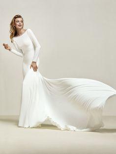 Brautkleid Meerjungfrau elegant
