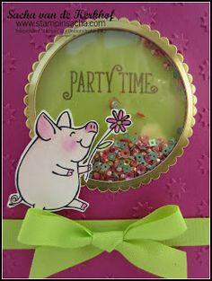 Stampin' Up! This Little Piggy Schudkaart