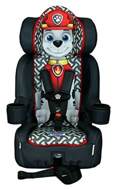 Nickelodeon+KidsEmbrace+Combination+Toddler+Harness+Booster+Car+Seat,+Paw+Patrol+Marshall