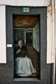 Door #22 in Funchal, Madeira, Portugal.