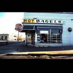 My neighborhood bagel store. It was the best!