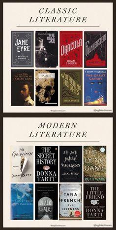 Classic Novels To Read, Classic Literature, Classic Books, Tea And Books, Book Club Books, Books To Read, Modern Novel, Modern Books, Aesthetic Words