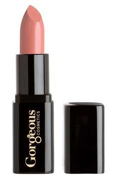 Free shipping and returns on Gorgeous Cosmetics Lipstick at Nordstrom.com. Lavish your lips with extravagant care! The smooth, fine texture feels luxuriously soft and lightweight on your lips. Remarkably high color-pigment content means color lasts reliably for hours without touch-ups. Enriched with emollients to nourish your sophisticated, glamorous lips.