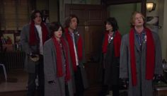 How I Met Your Mother. The halloween when they decided to dress up like The Breakfast Club, but a failure at coordination causes them all to dress as John Bender.