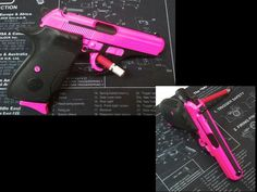 Hot Pink - Bersa Thunder 380 Handgun - www.tzarmory.comLoading that magazine is a pain! Get your Magazine speedloader today! http://www.amazon.com/shops/raeind