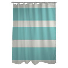 Found it at Wayfair - Helen Striped Shower Curtain