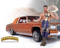 Wrestling Stars, Wrestling Wwe, Wrestling Costumes, Cadillac, Morticia And Gomez Addams, Eddie Guerrero, Wwe Roman Reigns, Wrestling Superstars, Old Classic Cars