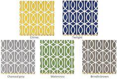 One designer decorative throw pillow cover citrine or by LivePlush