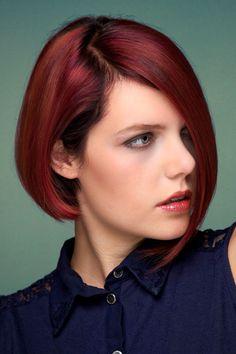 56 Besten Bob Frisuren Bilder Auf Pinterest Easy Hairstyles New