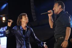 The Rolling Stones in Rock in Rio Lisboa 2014 with Bruce Springsteen | Via Flickr Rock in Rio Lisboa