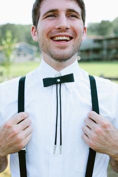 bolo-style bow ties! // photo by ArrowandApple.com