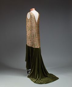 Evening dress, late 1920s  Jessie Franklin Turner  Silk