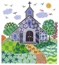 harryillustration, Church, flickr, Children's book illustrators and authors