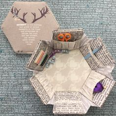 Hexagonal Sewing Box – Blithe Fabrics Blog Tour – Mister Domestic
