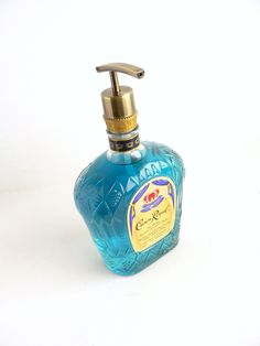 Premium Brass Soap Dispenser Crown Royal Whisky Bottle - $19.99 - Handmade House and Garden, Crafts and Unique Gifts by BoMoLuTra