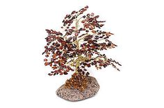 Hand Made Amber Gemstone Tree (Rare and Unique) Amber Tree, Amber Gemstone, Shapes, Gemstones, Unique, Handmade, Hand Made, Gems, Crystals Minerals