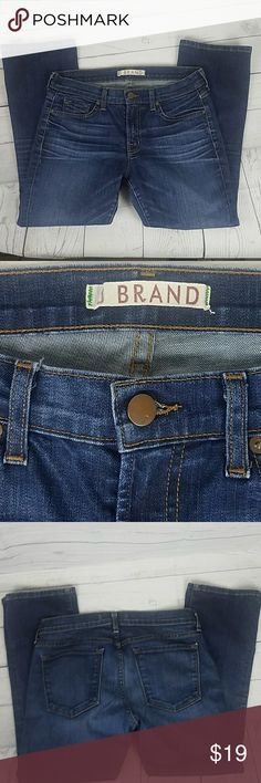 Women's J. Brand Jean's Boot Cut Size 28 These Women's J. Brand Jean's are in good condition. Gently used. Boot Cut Size 28 Inseam 25 Rise 8 inches  Waist 14 inches.   Style Murphy J Brand Jeans Boot Cut