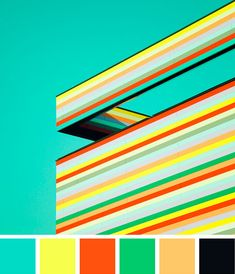 Color Happy 168  This vibrant, col­or­ful archi­tec­ture was cap­tured by Matthias Heiderich.