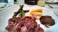 Abanico de carne en Le Meridién Mexico City