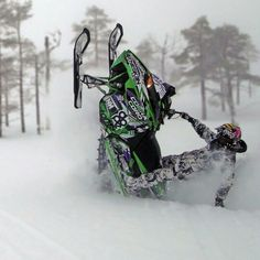 Snowmobiling (Reason I don't care too ... and tooooo cold!!! ; (