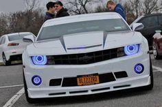 White Camaro