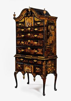 High chest of drawers Date: : New England, Boston, Massachusetts, United States