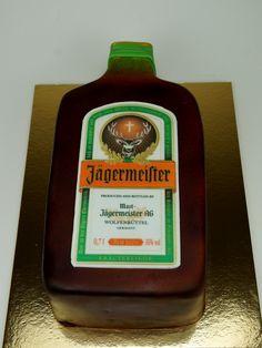 Jagermeister Cake, Lodnon Cakes http://www.pinkcakeland.co.uk #jagermeister #cakes #london