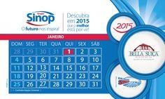 Calendário Grupo Sinop - 2015