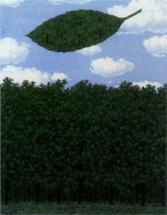 Chorus of the sphinx - Rene Magritte